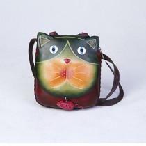 Medium Size Animal Crossbody Bag HB 13.4 Cat