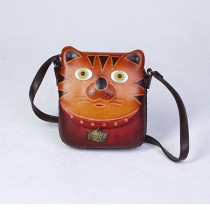 Medium Size Animal Crossbody Bag HB 13.7 Cat