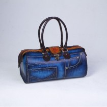 Leather Jeans Bag  HB 33