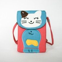 PU Animal Crossbody Bag HBPU 13 Cat