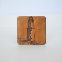 Hand Carved Fridge Magnet Light House