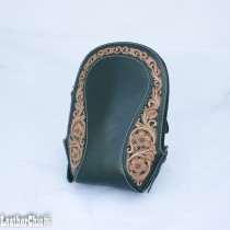Leather Hand Carved Packpak HB 904