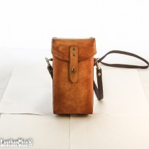 Hand Carved Cross-body Bag Plain HBP 01