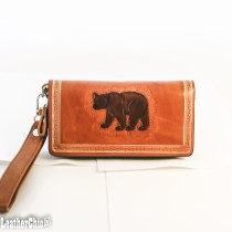 Hand Carved Clutch WZ 19 Bear