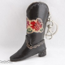 Western Cowboy Goods Key Chain KC 37 Cowboy Boot