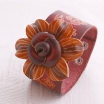 Flower Wristband W 02