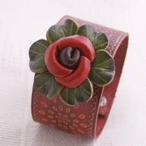 Flower Wristband W 03