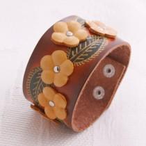 Flower Wristband W 04