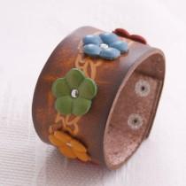 Flower Wristband W 05