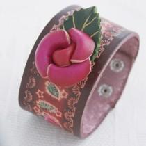 Flower Wristband W 06
