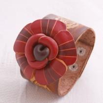Flower Wristband W 08