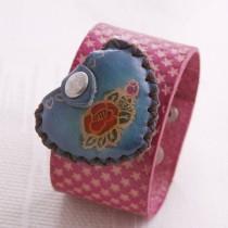 Heart Bag Wristband W 09